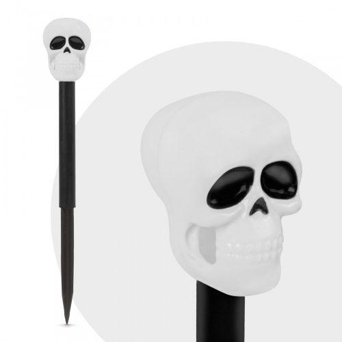 Led-es szolár lámpa - halloween - koponya