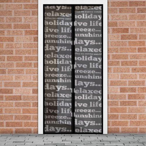 Mágneses szúnyogháló függöny ajtóra - feliratos