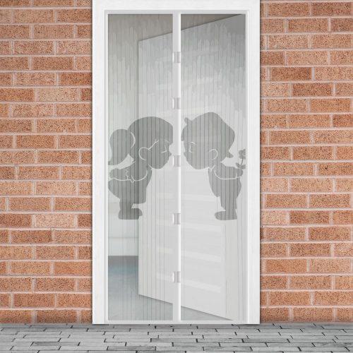Mágneses szúnyogháló függöny ajtóra - Fiú + Lány