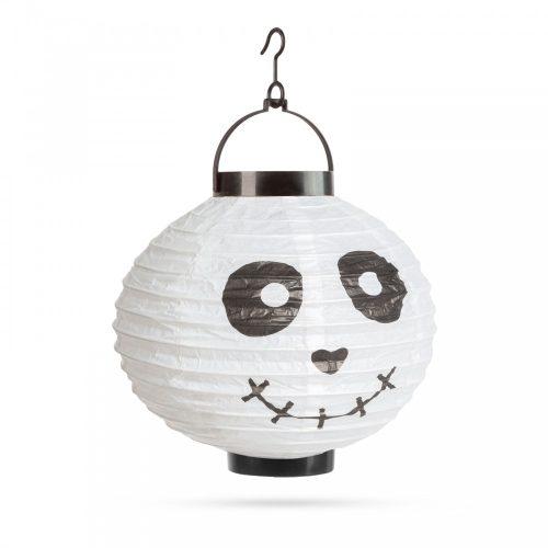Halloween-i LED-es lampion - szellem