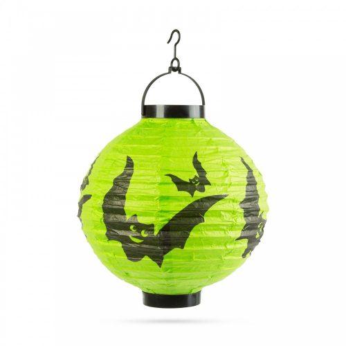 Halloween-i LED-es lampion - Denevér