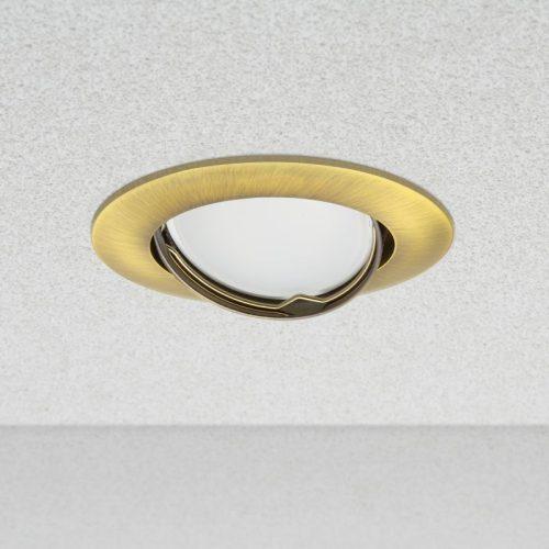 """Spot lámpatest """"Helsinki"""" billenthető - POLISHED GOLD"""