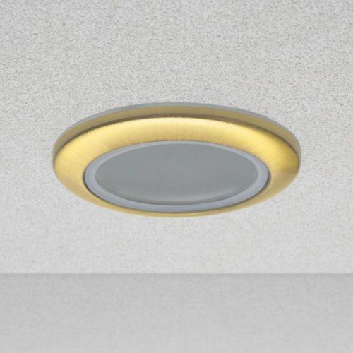 """Spot lámpatest """"Rome"""" fix, vízálló - POLISHED GOLD"""
