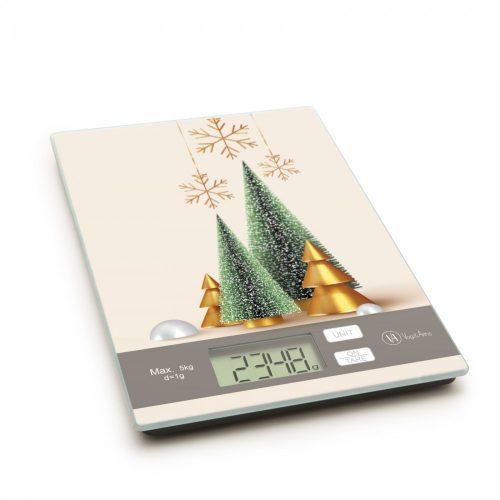 Konyhai mérleg - Karácsonyfa