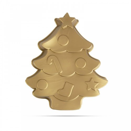 Szilikon sütőforma - karácsonyfa - 28 x 25 x 4,5 cm
