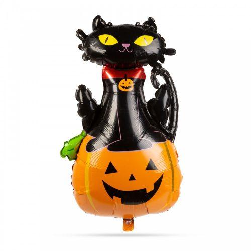 Halloween lufi - macska és tök