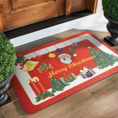 Karácsonyi lábtörlő - karácsonyfa - 58 x 38 cm
