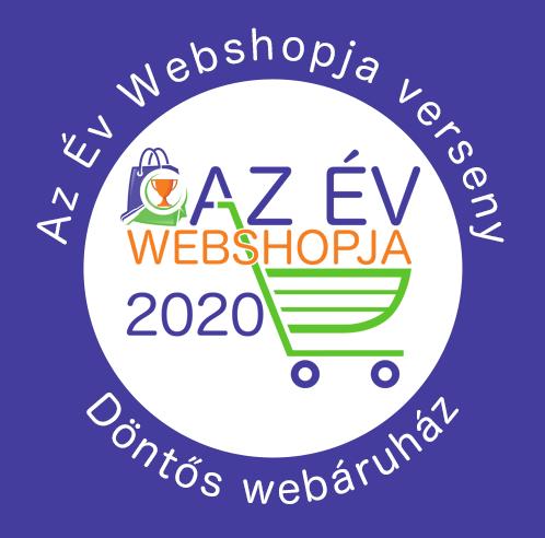 Az év webshopja 2020 döntőjében
