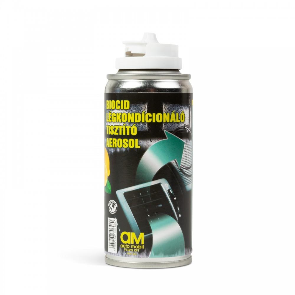 Klíma és utastér tisztító aeroszol bomba - biocid - 100 ml