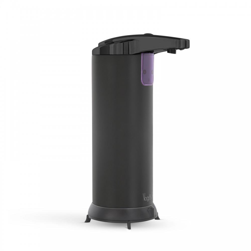 Automata szappanadagoló - 220 ml - álló - elemes - matt fekete