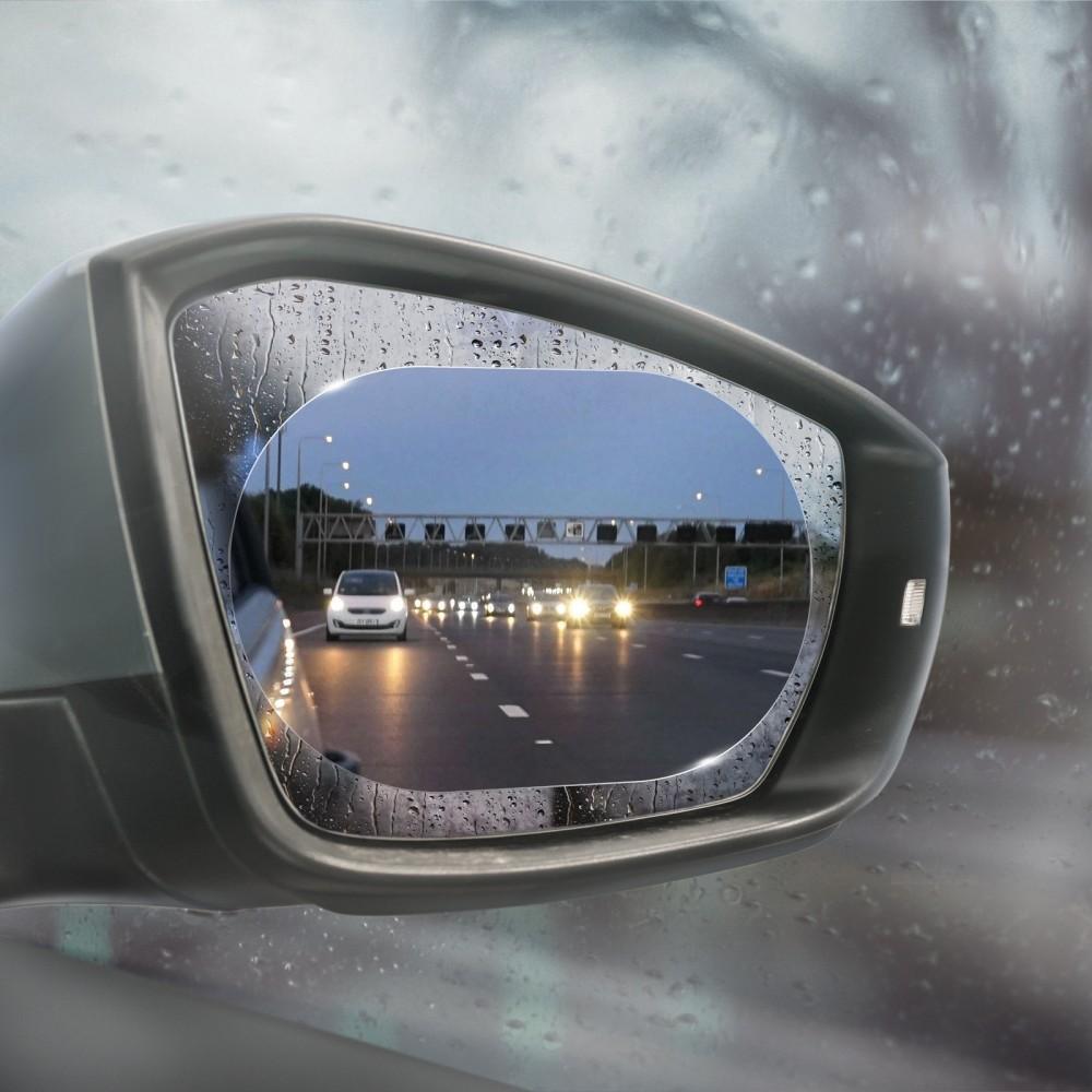 Vízlepergető tükör matrica, párásodásgátló fólia