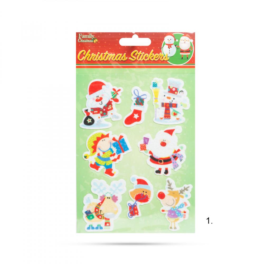 Karácsonyi matrica szett - 3 féle