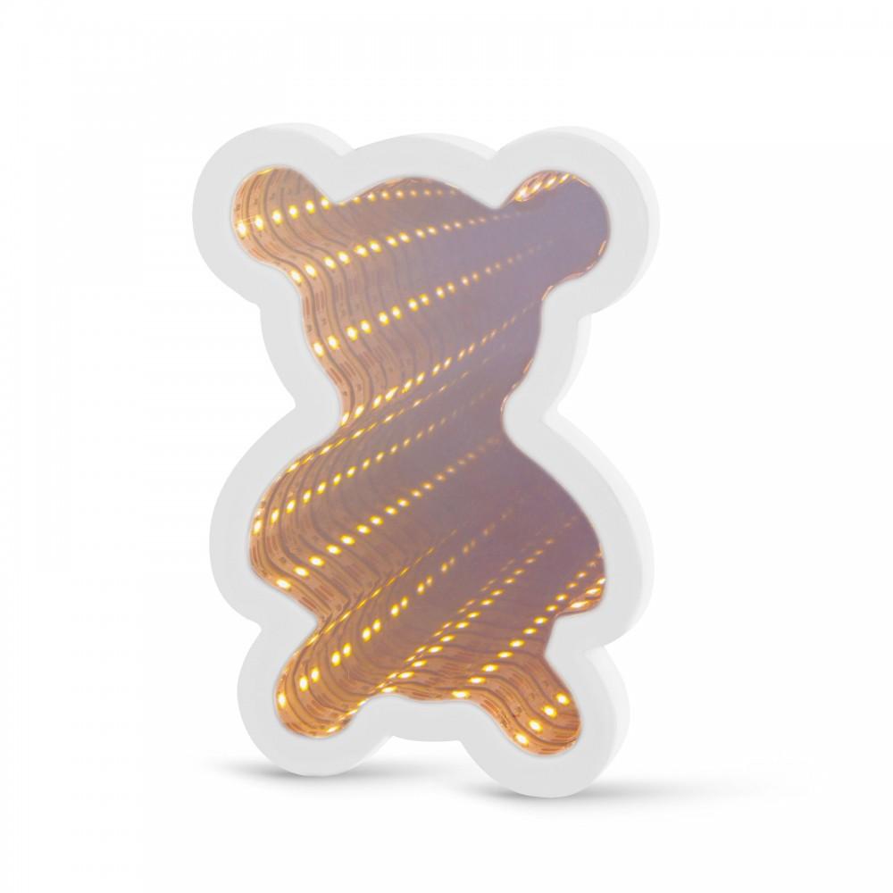LED varázstükör - mini maci