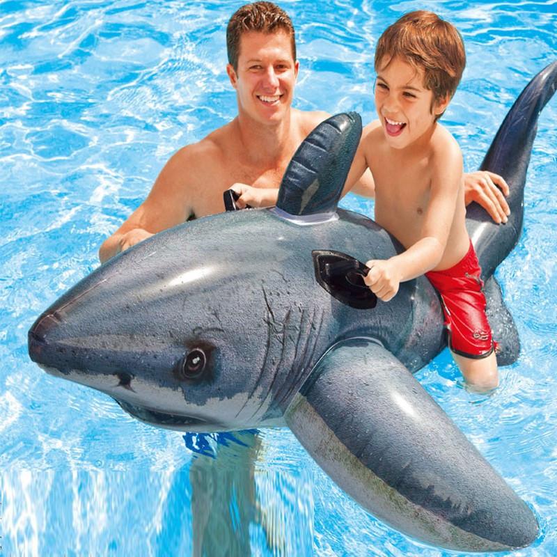 Felfújható cápa gumimatrac